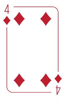 Four of Diamonds